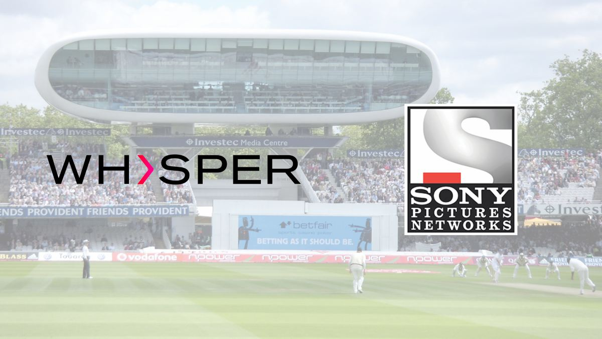 Whisper to support the coverage of India tour of England series