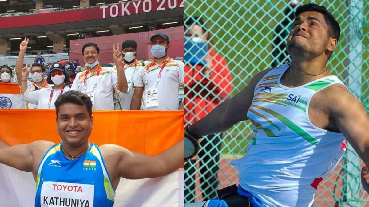 Tokyo Paralympics: Yogesh Kathuniya bags a silver medal in the men's discus throw