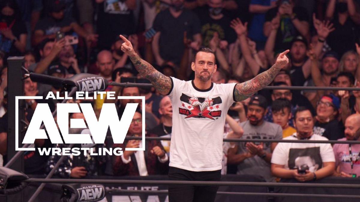 CM Punk smashes AEW shirt sales record