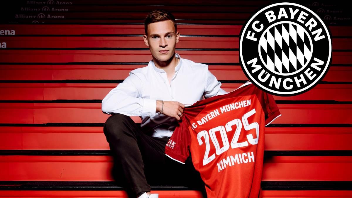 Joshua Kimmich renews contract with Bayern Munich