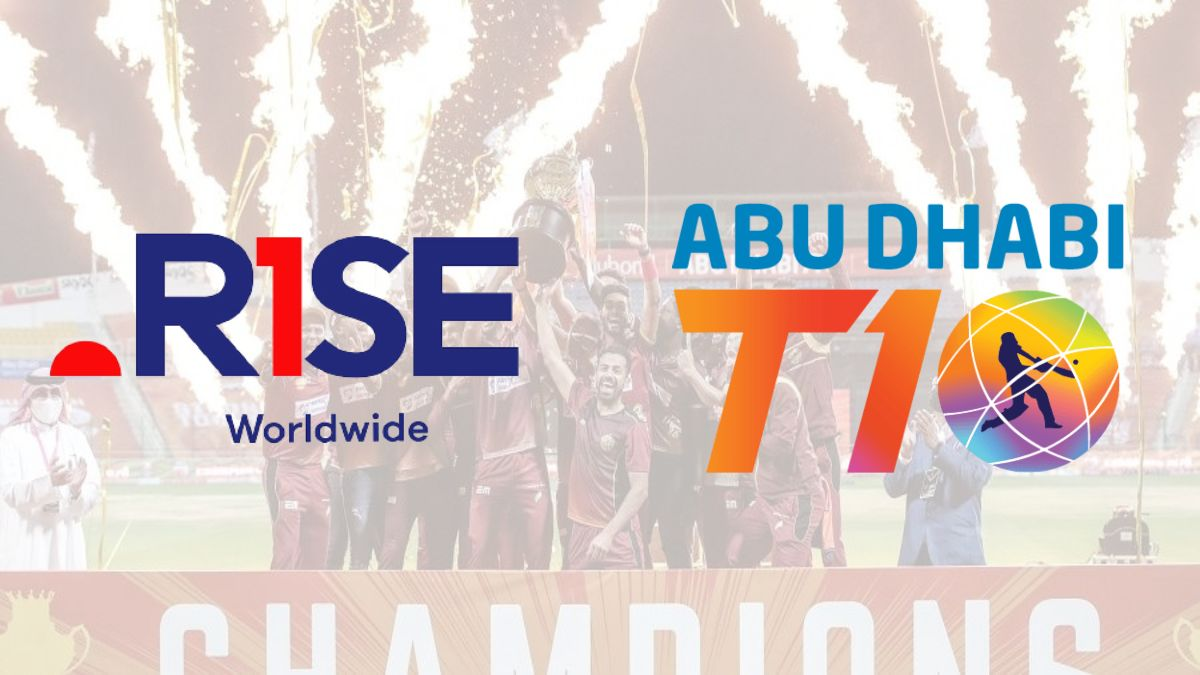 Abu Dhabi T10 league ropes in Rise Worldwide as its official agency