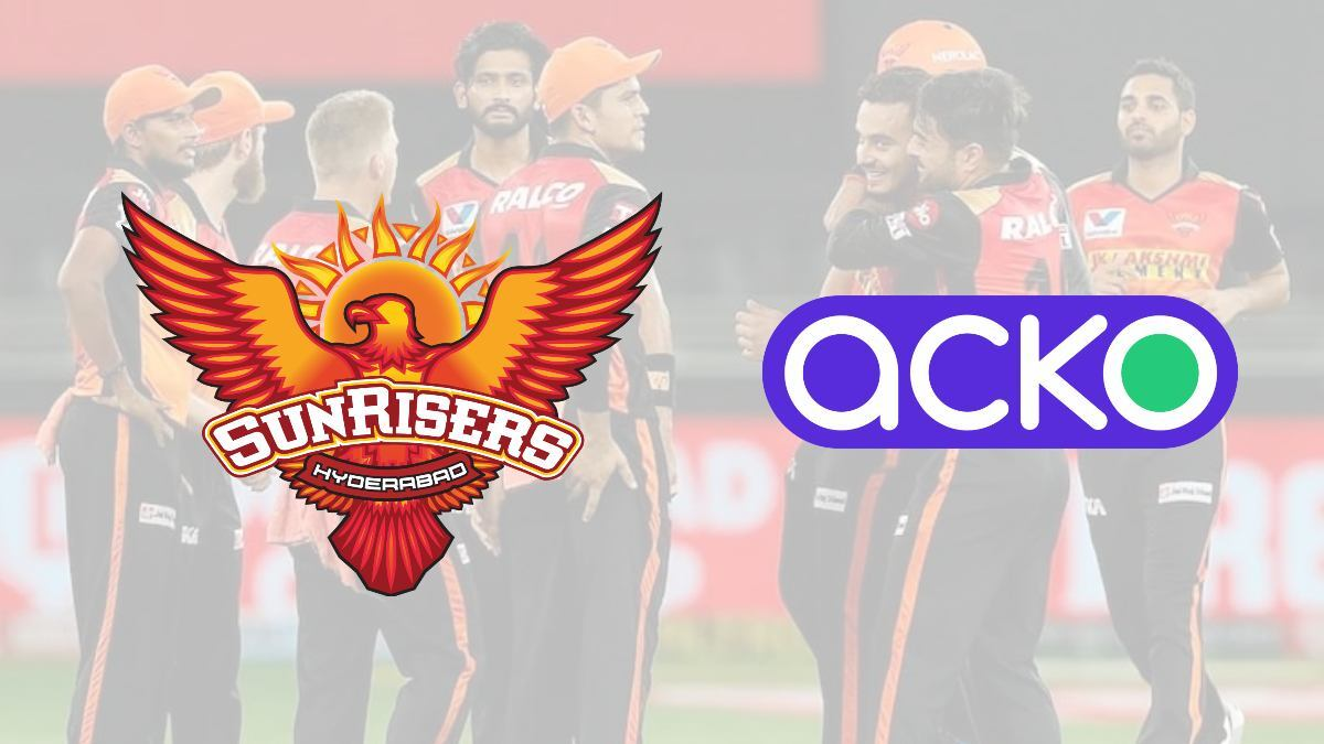 Acko teams up with Sunrisers Hyderabad as the team's official insurance partner