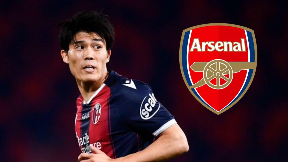 Arsenal sign Takehiro Tomiyasu from Bologna