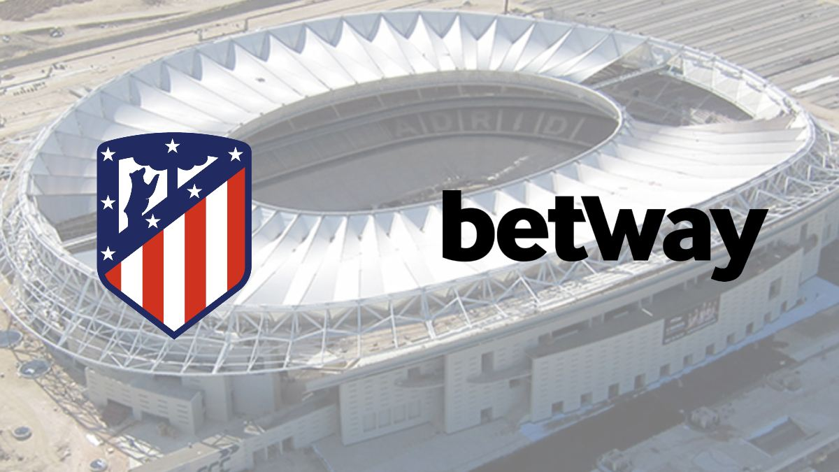 Atletico Madrid signs partnership deal with Betway