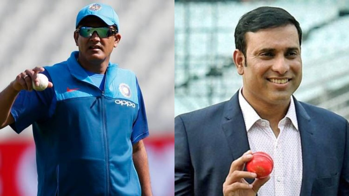 Anil Kumble, VVS Laxman in line for India's head coach position: Reports