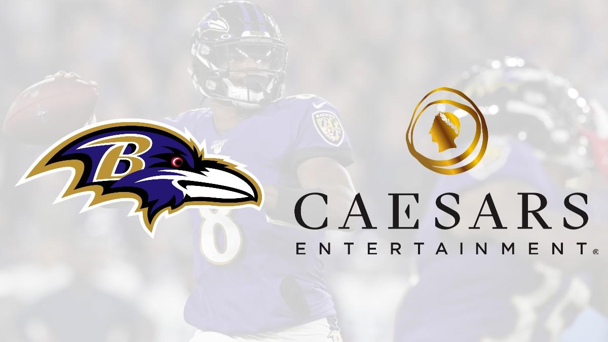 Caesars sign sports betting partnership with Baltimore Ravens