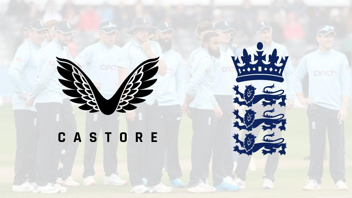 Castore lands a ten-year kit deal with England