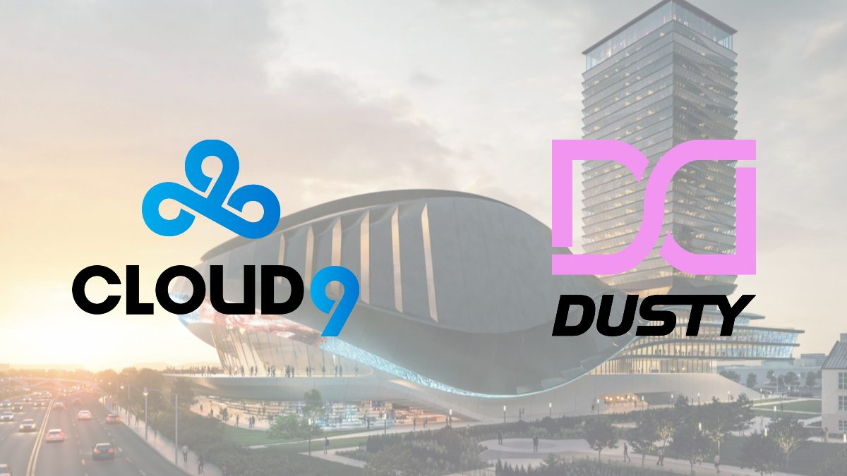 Cloud9 signs a partnership deal with Dusty
