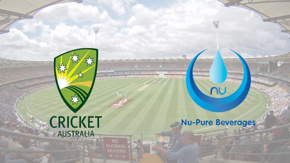 Cricket Australia announces sponsorship deal with Nu-Pure