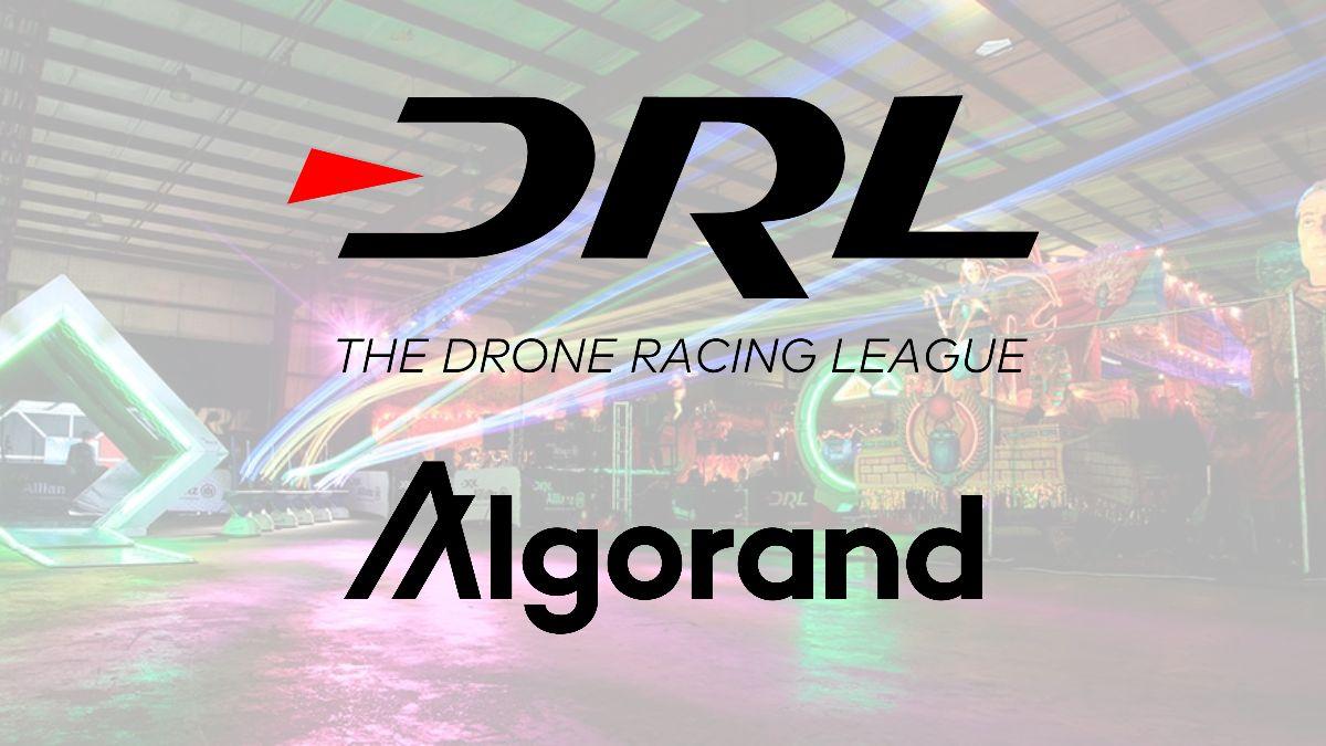 Drone Racing League partners with blockchain platform Algorand in $100 million deal.