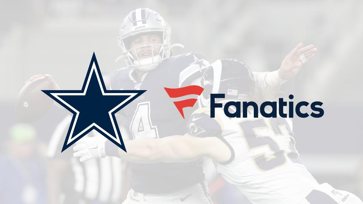 Fanatics land a new deal with Dallas Cowboys