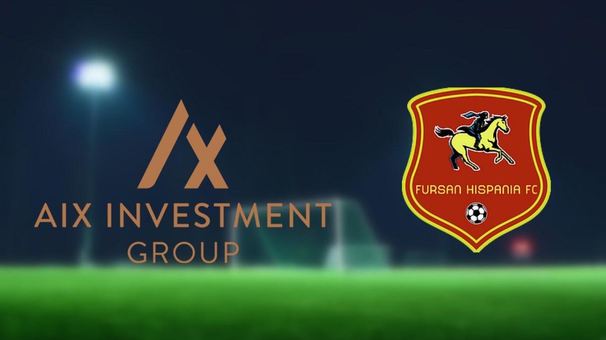 Fursan Hispania FC land AIX Investment Group as sponsor