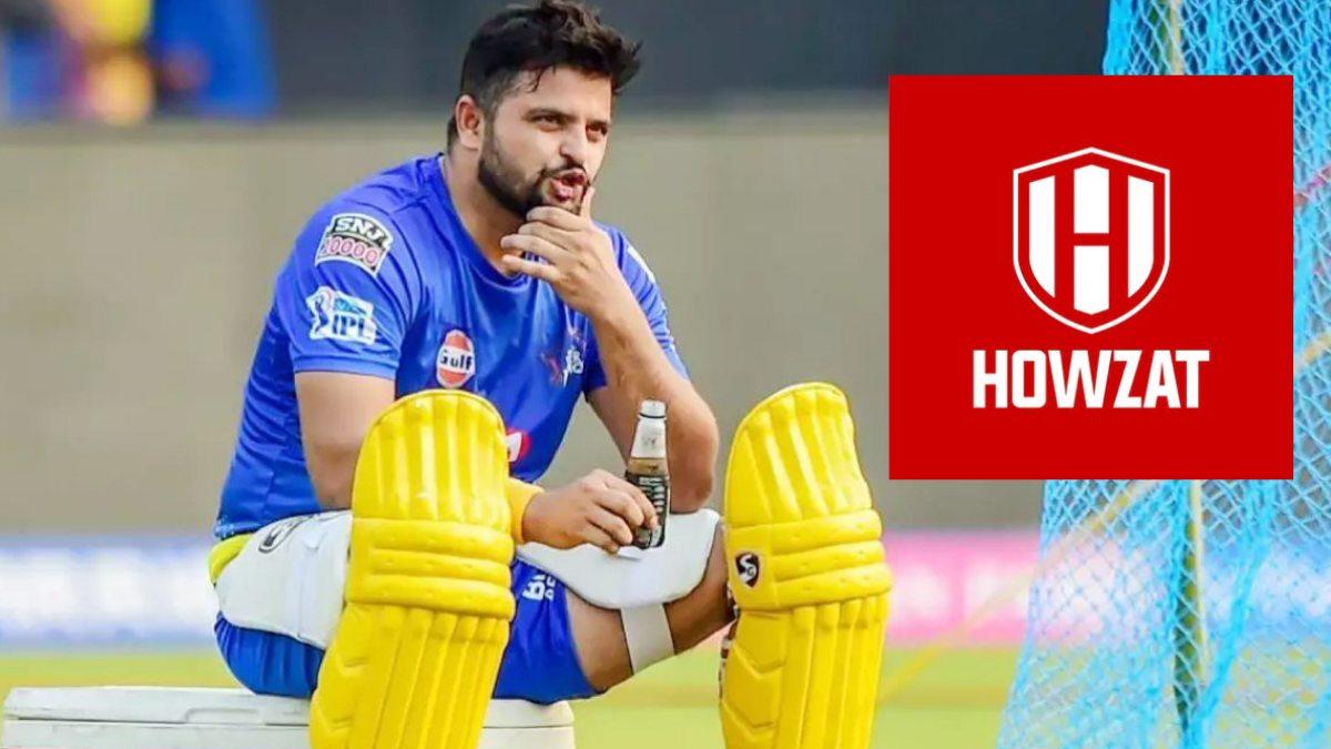Howzat announces Suresh Raina as its brand ambassador.jpg