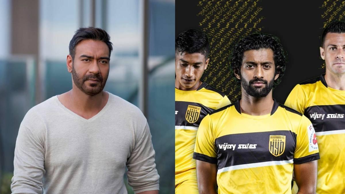 Hyderabad FC lands a partnership with Ajay Devgn's Maidaan