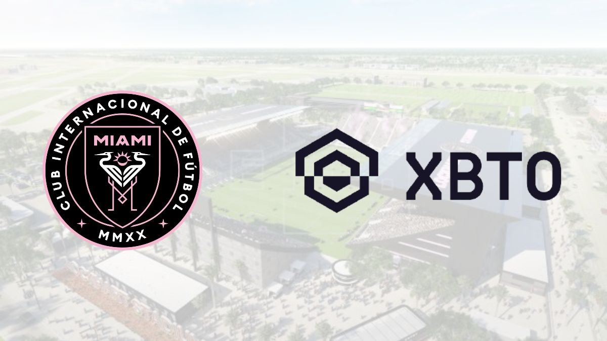 Inter Miami signs a sponsorship deal with XBTO