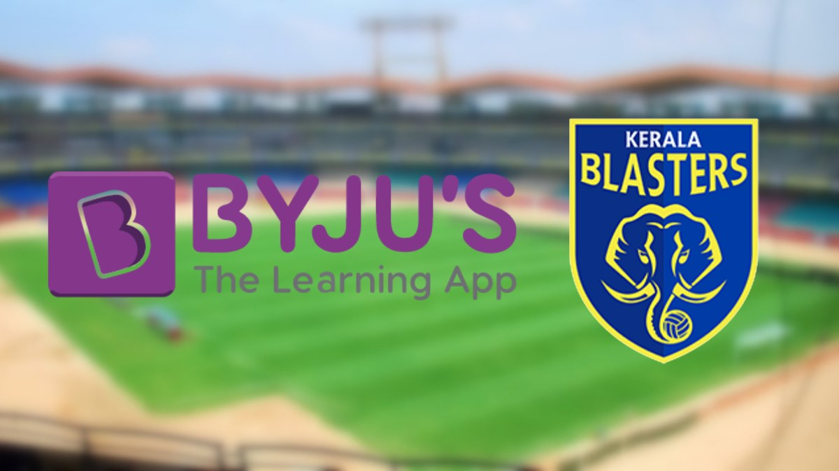 Kerala Blasters inks an extension with Byju's