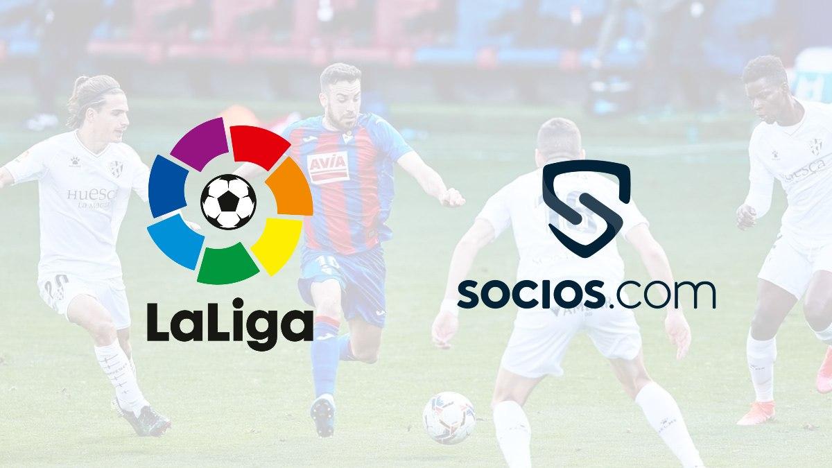La Liga lands new deal with Socios.com