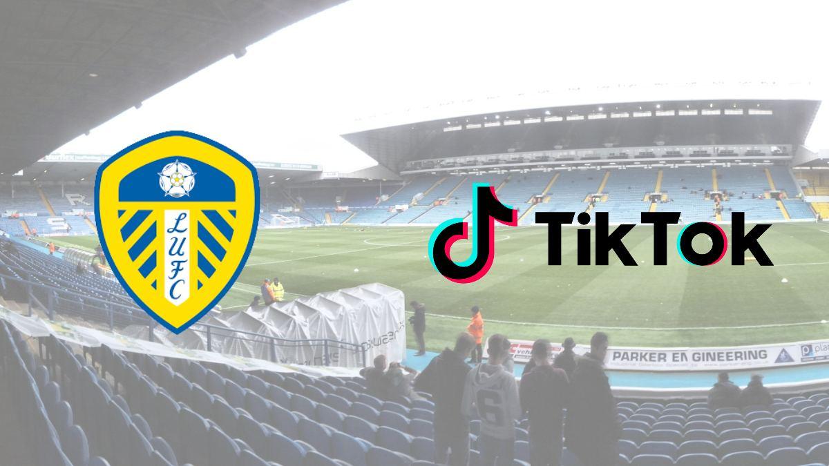 Leeds United lands global e-commerce partnership with TikTok