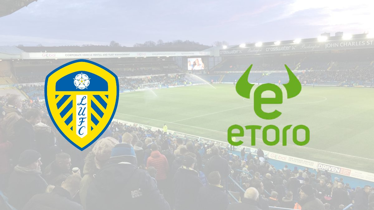 Leeds United signs a partnership deal with eToro