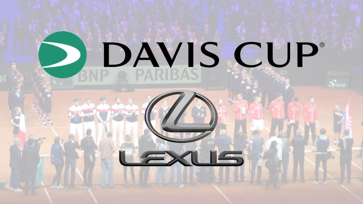 Lexus partners with 2021 Davis Cup as official automotive sponsor