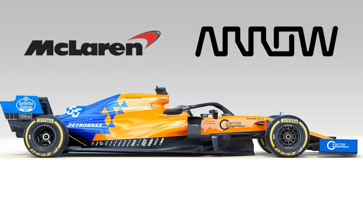 McLaren inks extension with Arrow Electronics