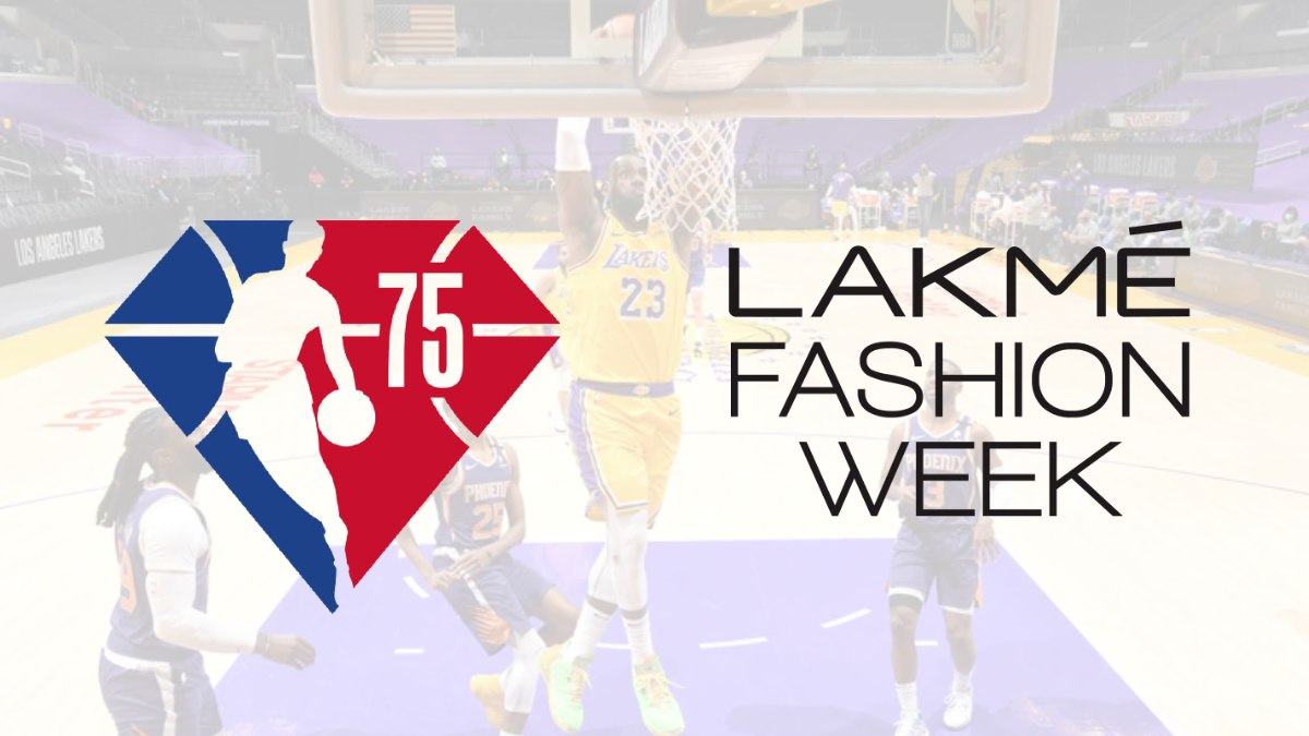 NBA join hands with Lakmé Fashion Week in India to celebrate league's 75th anniversary season
