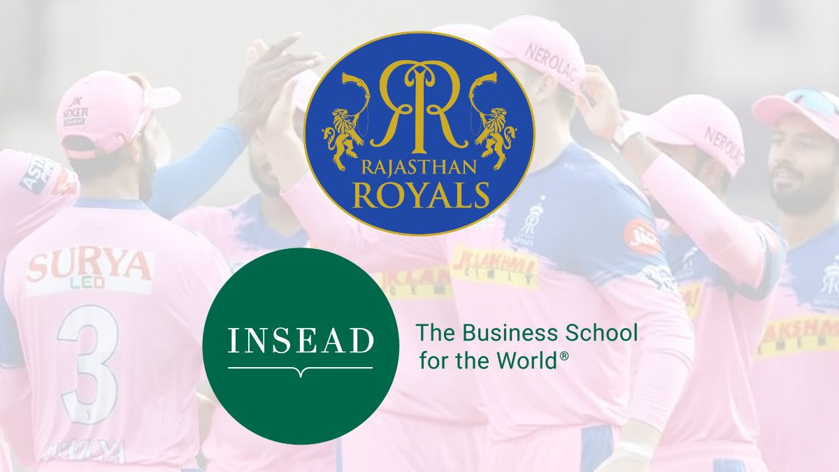 Rajasthan Royals collaborate with INSEAD Business School to unveil a leadership course