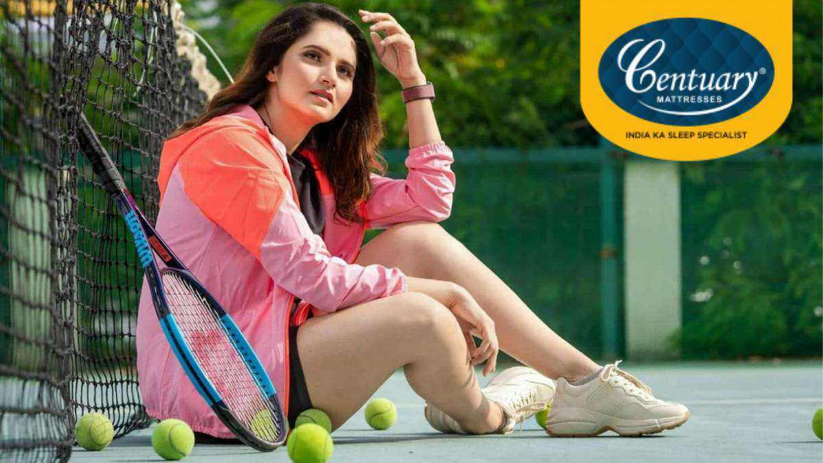 Sania Mirza features in TVC for Centuary Mattress