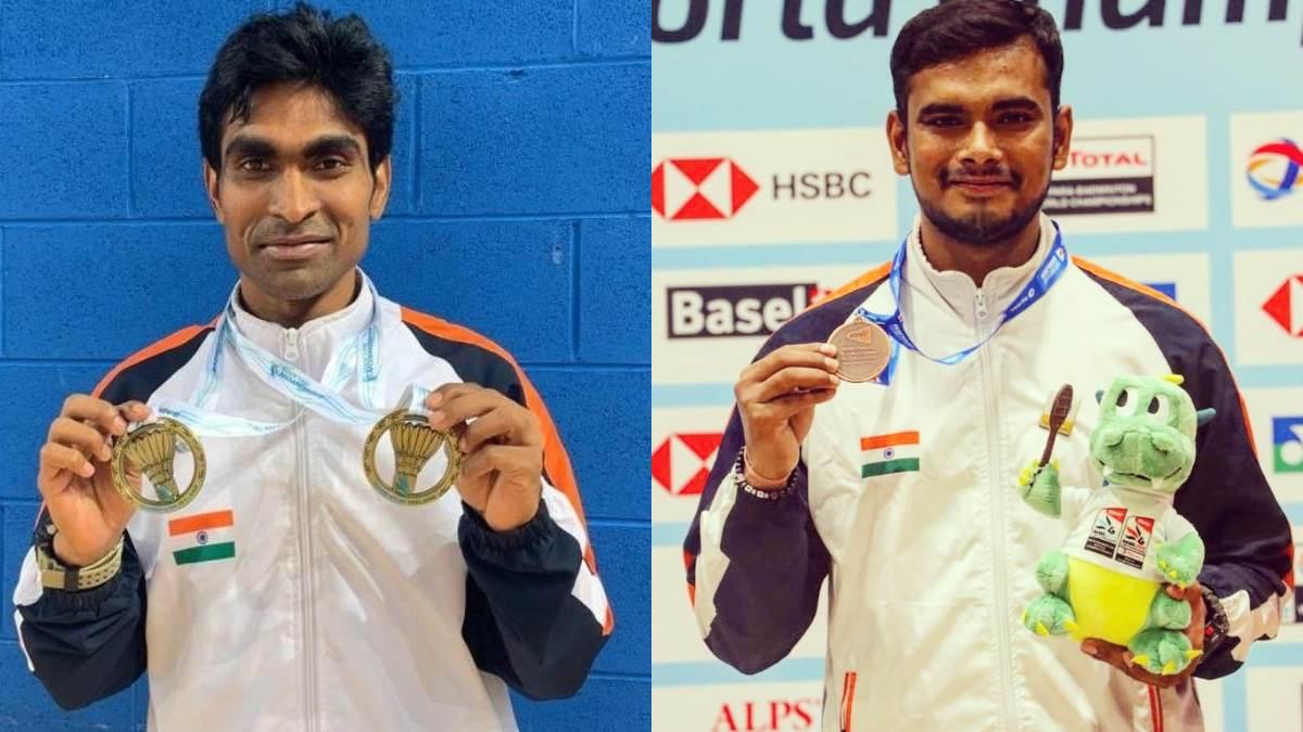 Shuttlers Pramod Bhagat claims gold, Manoj Sarkar wins bronze in men's singles SL3 event