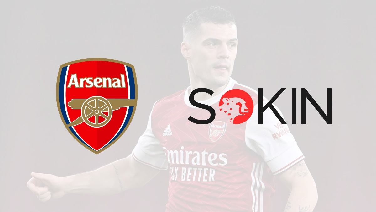 Sokin signs a new partnership deal with Arsenal