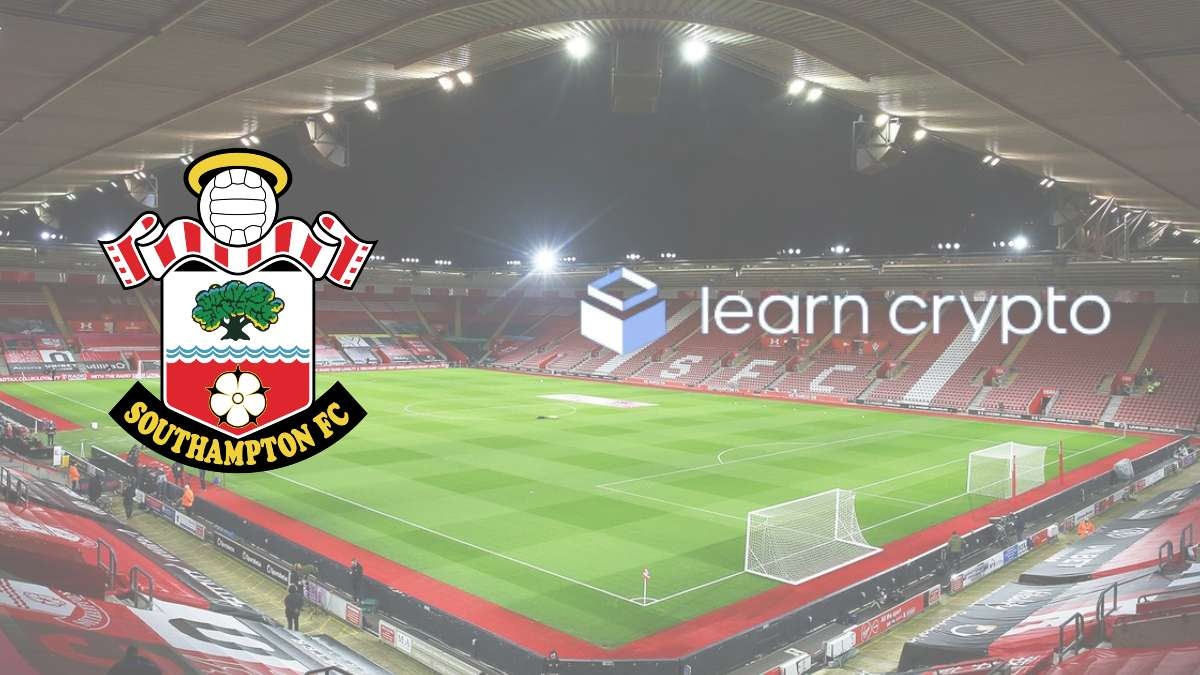 Southampton FC inks a partnership with learncrypto.com