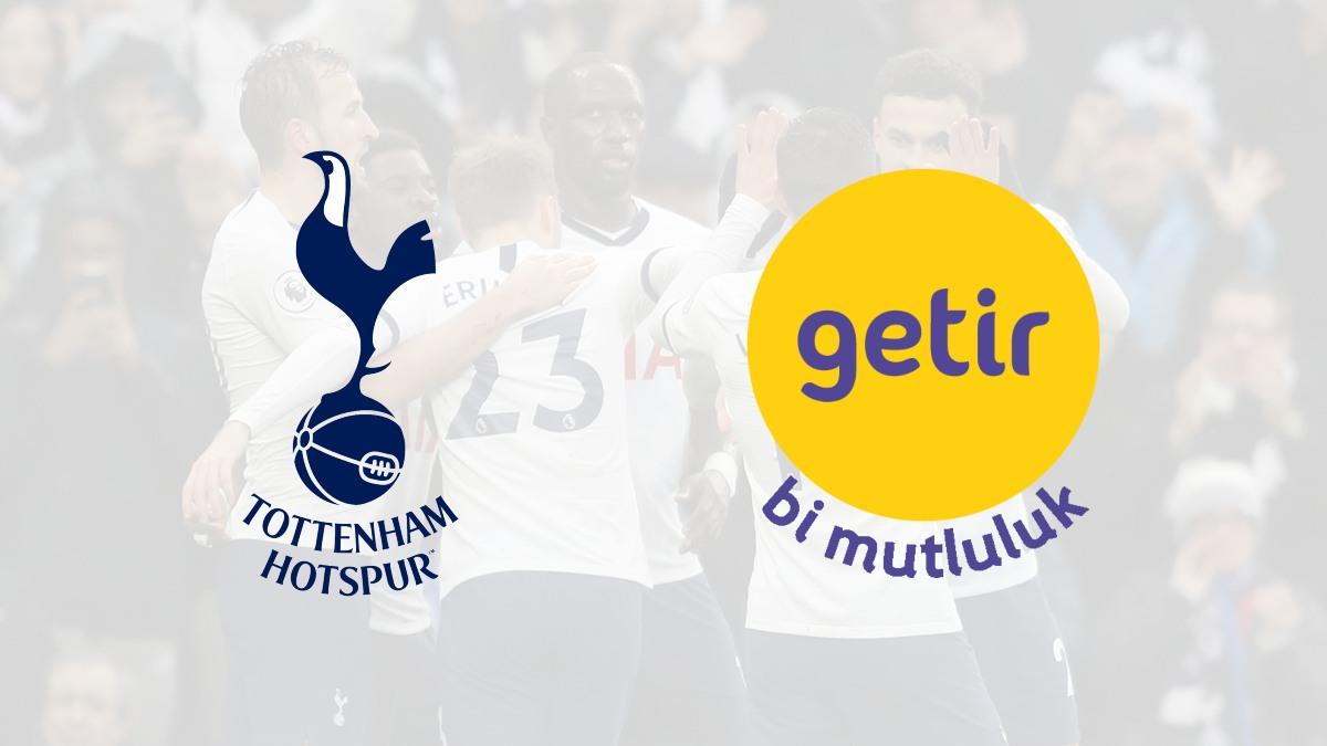 Spurs get their first-ever training kit sponsor