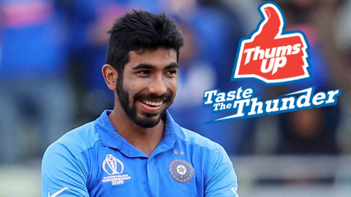 Thums Up ropes in Jasprit Bumrah for ICC Men's T20 World Cup