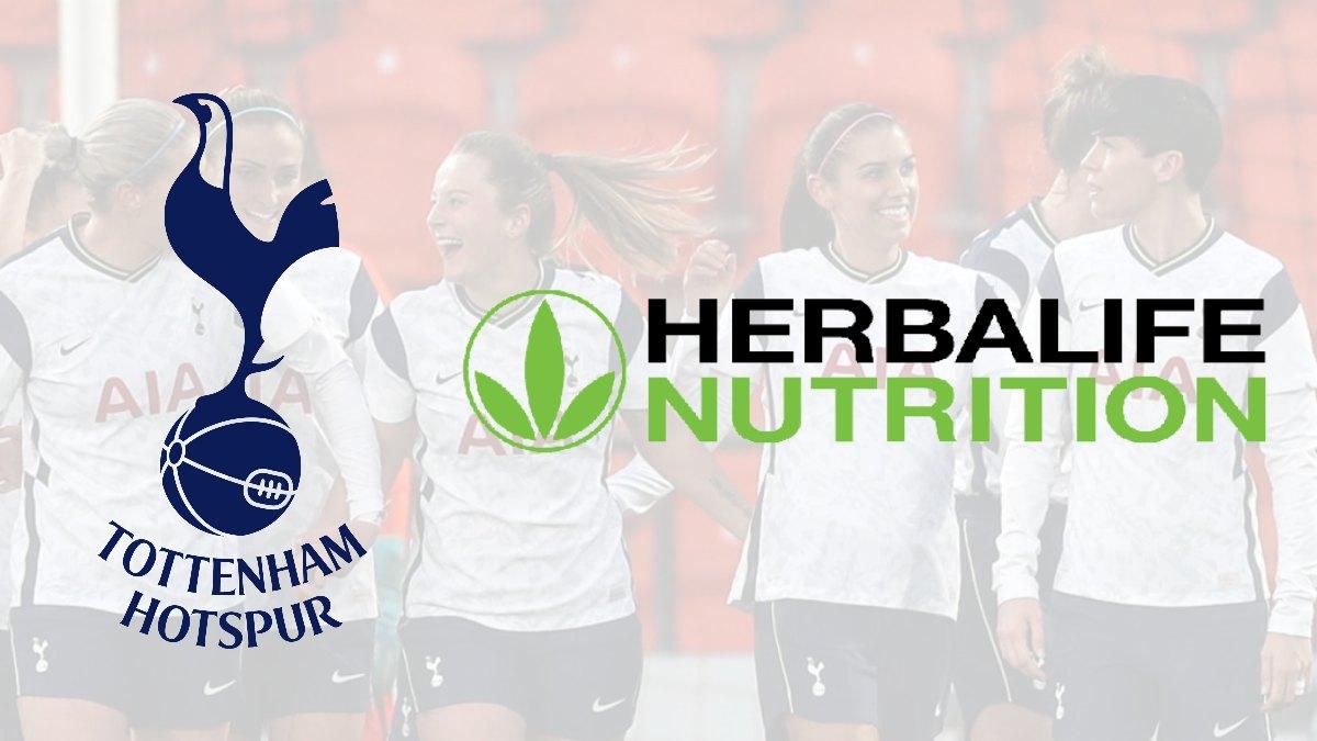 Tottenham Hotspur Women names Herbalife Nutrition as the official nutrition partner