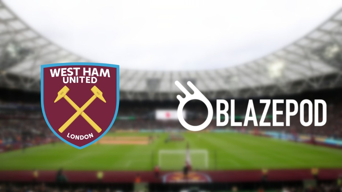 West Ham United inks an association with BlazePod
