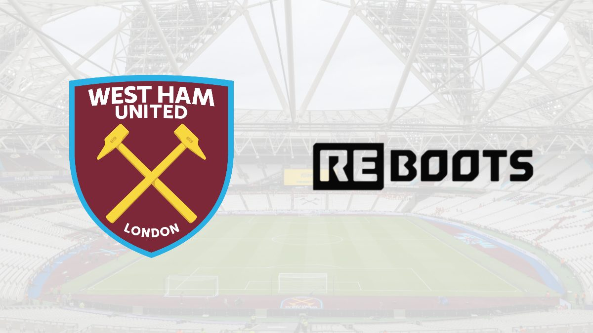West Ham United partners with Reboots as Club's Official Recovery Boots Supplier