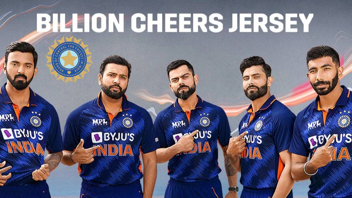 BCCI reveals Indian cricket team's 'Billion Cheers Jersey' for T20 World Cup