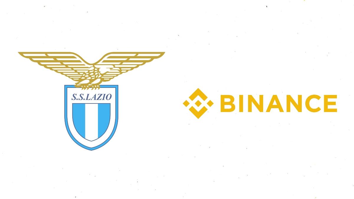 Binance inks a jersey sponsorship deal with Lazio