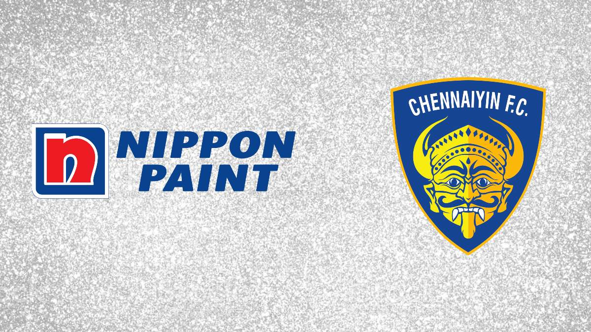 Chennaiyin FC appoints Nippon Paint as associate sponsor for fifth consecutive year