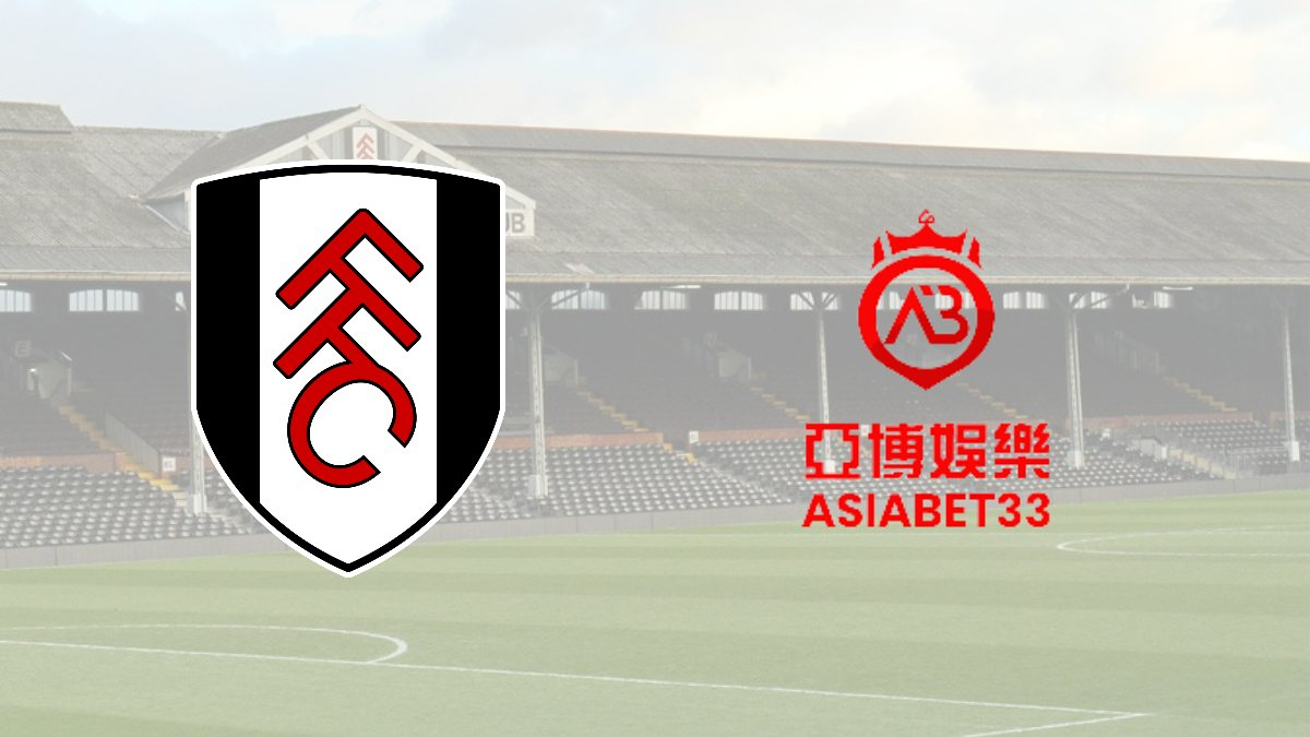 Fulham FC inks a betting partnership with Asiabet33