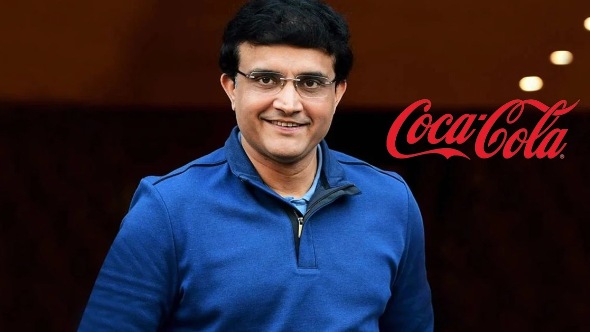 Sourav Ganguly signs a partnership extension with Coca-Cola India