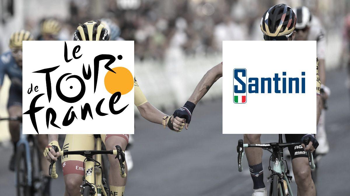 Tour de France announces Santini as its yellow jersey supplier